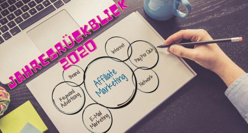 affiliate marketing Jahresrückblick 2020