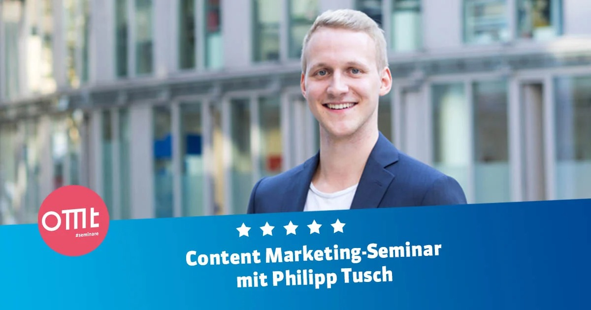 Content Marketing für E-Commerce mit Philipp Tusch