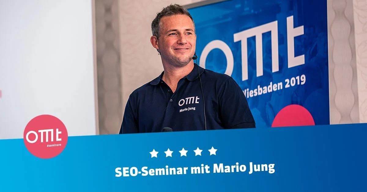 SEO-Seminar mit Mario Jung