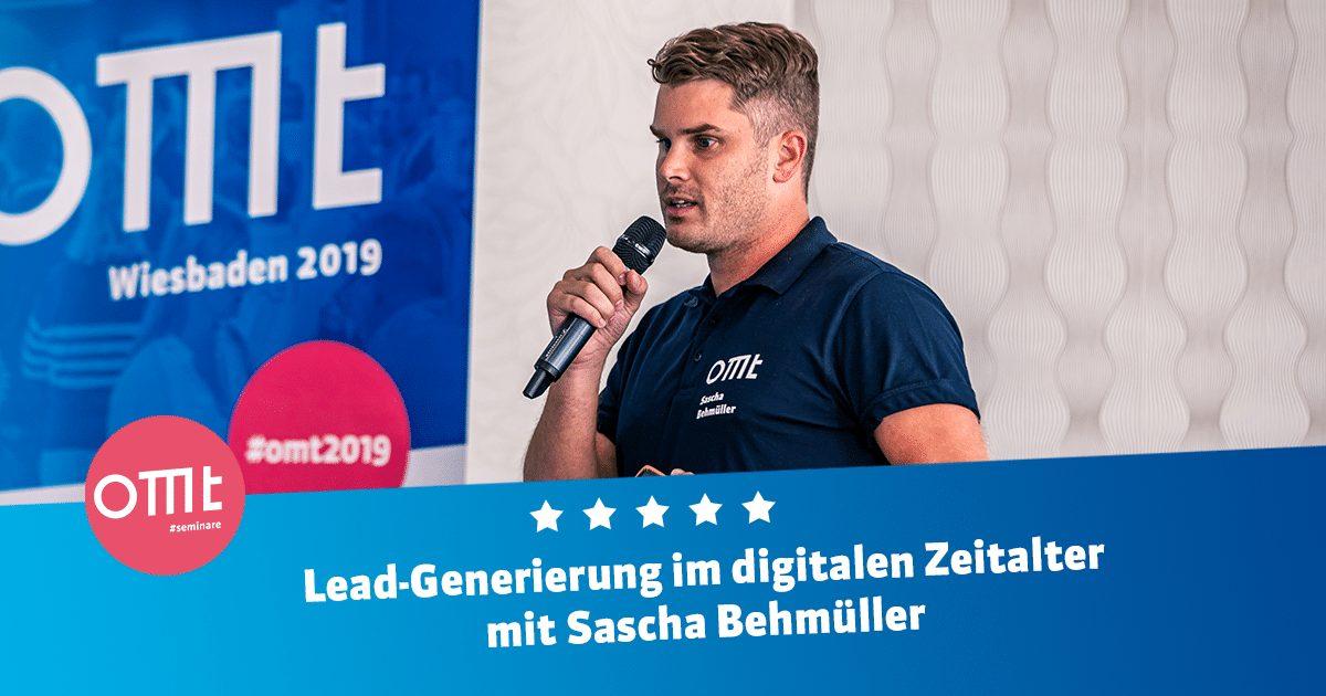 Lead-Generierung im digitalen Zeitalter mit Sascha Behmüller