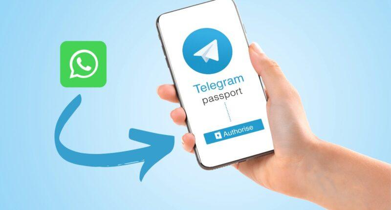 telegam unterstützt omport von whatsapp-chats