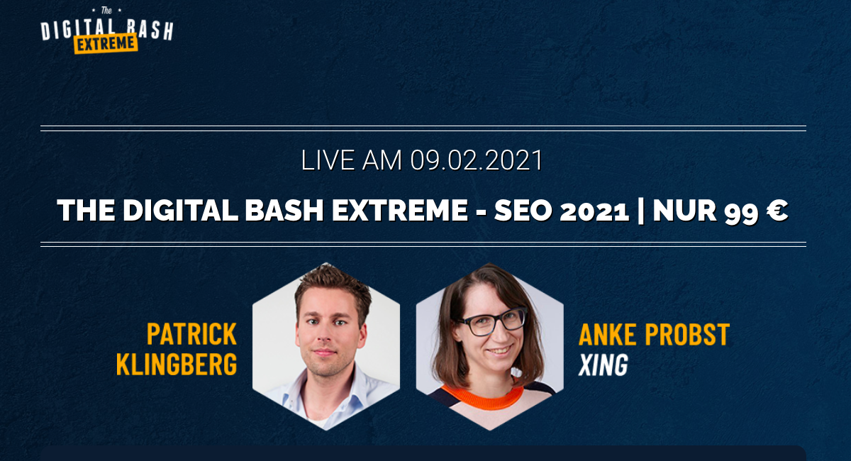 The Digital Bash Extreme SEO 2021