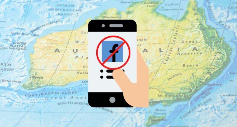 australien kritisiert facebook-blockade