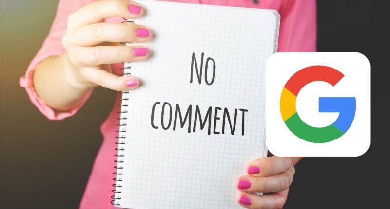 google: löschen von kommentaren wirkt sich auf ranking aus