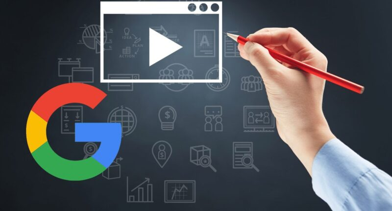 video einbetten oder uploaden - google